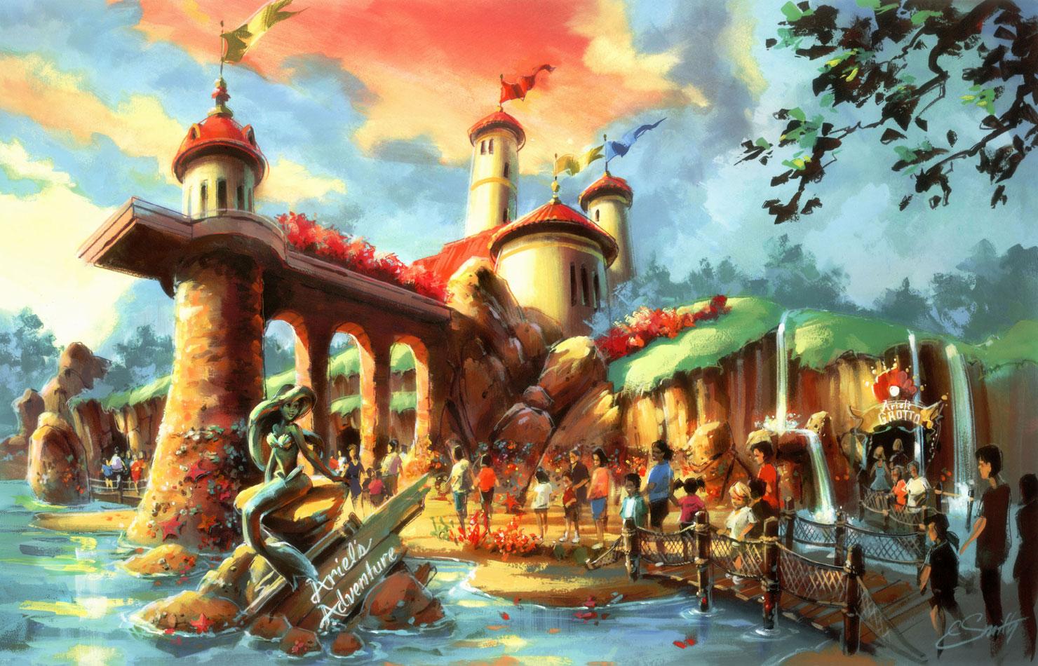 Caf 233 Mickey New Fantasyland