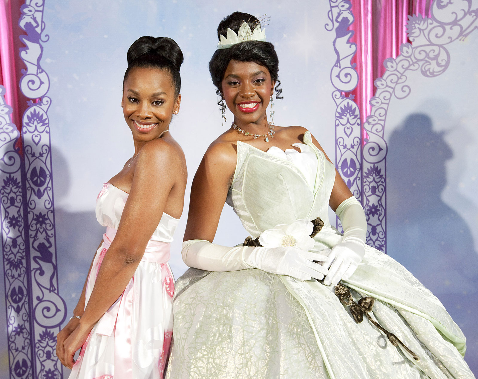 Princess Tiana Times Two Disney Previews Newest Character The