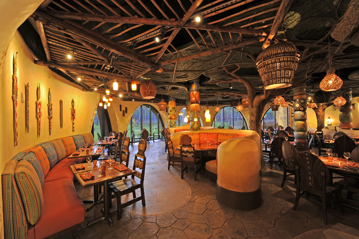 First look at sanaa interior and logo the disney blog for African cuisine restaurants